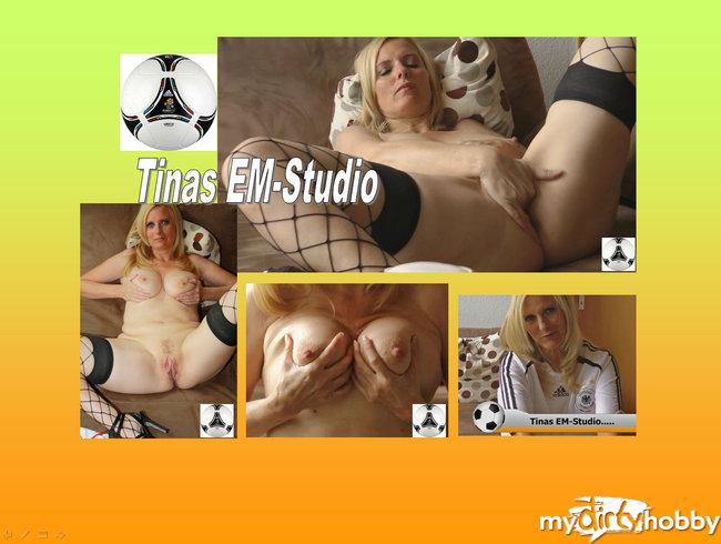 Tinas EM-Studio: Der Ball ist rund