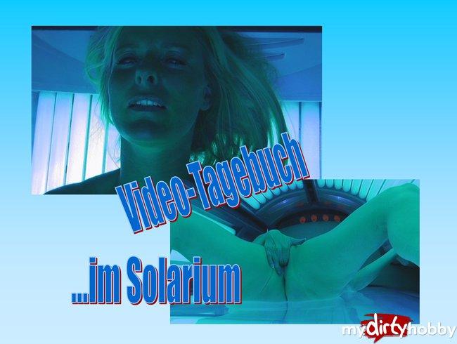 Tinas Video-Tagebuch: Im Solarium