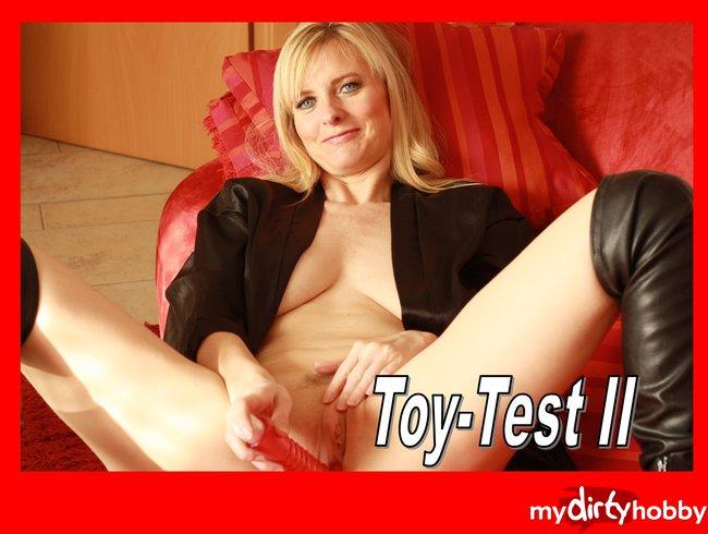 Tinas Toy-Test...PART 2