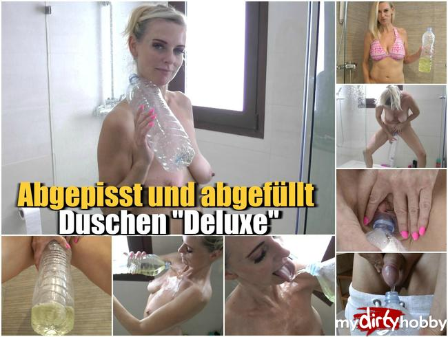 """Abgepisst und abgefüllt – Duschen """"Deluxe"""""""