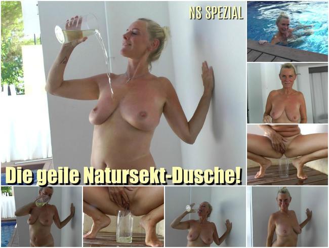 Die geile Natursekt Dusche